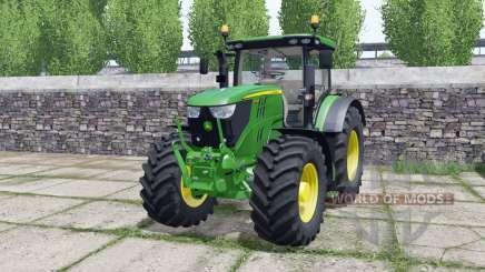 John Deere 6195R FL console для Farming Simulator 2017