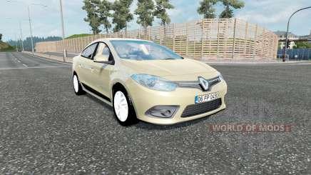 Renault Fluence 2012 для Euro Truck Simulator 2