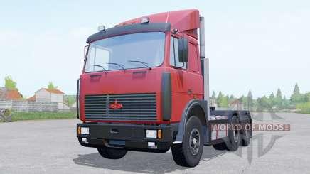 МАЗ 6422 для Farming Simulator 2017