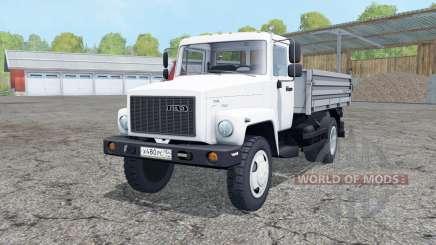 ГАЗ-САЗ-35071 с прицепом для Farming Simulator 2015