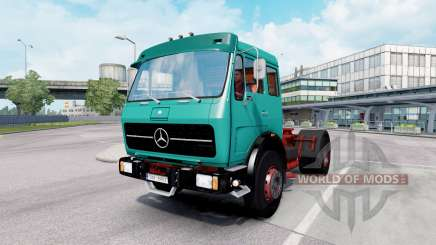 Mercedes-Benz 1632 (Br.387) 1973 tiffany blue для Euro Truck Simulator 2