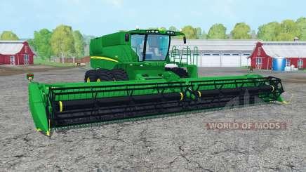 John Deere S680 green для Farming Simulator 2015
