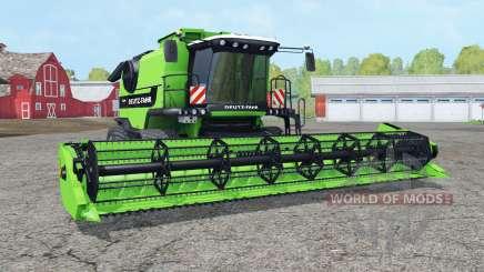 Deutz-Fahr 7545 RTS crawler modules для Farming Simulator 2015