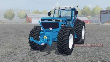 Ford TW-35 strong cyan для Farming Simulator 2013