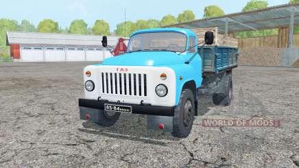 ГАЗ-53 в цвет морской волны для Farming Simulator 2015