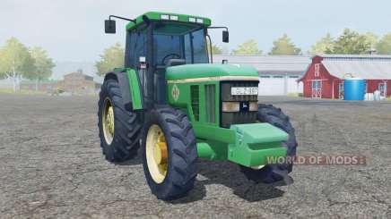 John Deere 7800 add wheels для Farming Simulator 2013