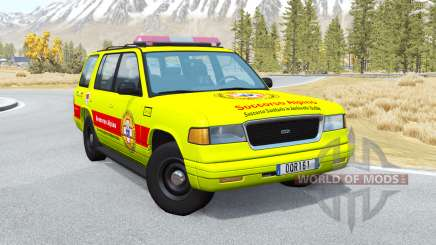 Gavril Roamer Soccorso Alpino v1.4 для BeamNG Drive