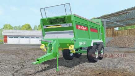 Bergmann TSW 4190 S pantone green для Farming Simulator 2015