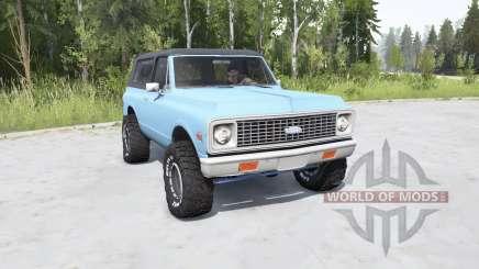 Chevrolet K5 Blazer 1972 для MudRunner