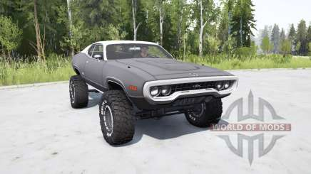 Plymouth GTX 1971 (GR2-RS23) lifted для MudRunner