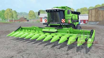 Deutz-Fahr 7545 RTS soft lime green для Farming Simulator 2015