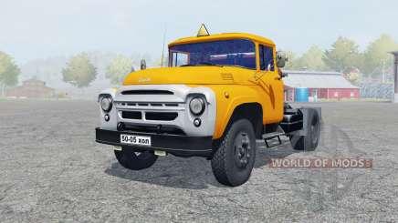 ЗиЛ-130В оранжевый окрас для Farming Simulator 2013