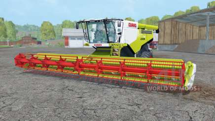 Claas Lexion 780 bitter lemon для Farming Simulator 2015
