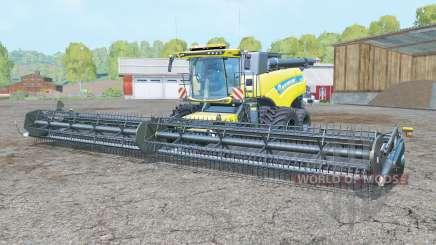 New Holland CR10.90 titanium yelloⱳ для Farming Simulator 2015