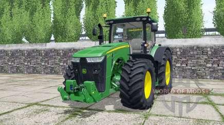 John Deere 8295R green для Farming Simulator 2017