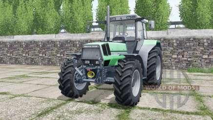 Deutz-Fahr AgroStar 6.81 lime green для Farming Simulator 2017