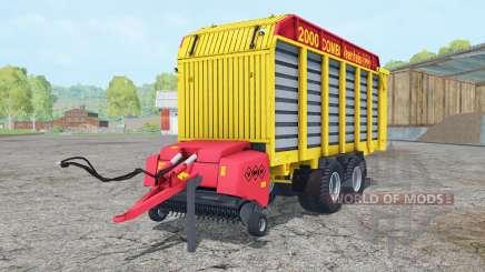 Veenhuis Combi 2000 ripe lemon для Farming Simulator 2015