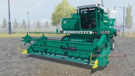 Дон-1500Б зелёный окрас для Farming Simulator 2013
