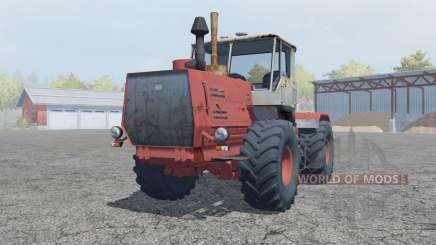 Т-150К умеренно-красный окрас для Farming Simulator 2013