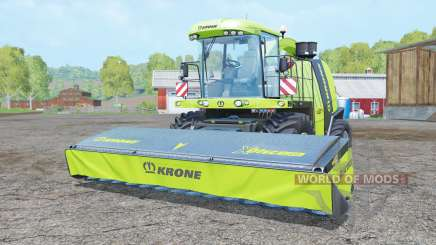Krone BiG X 1100 multicolor для Farming Simulator 2015