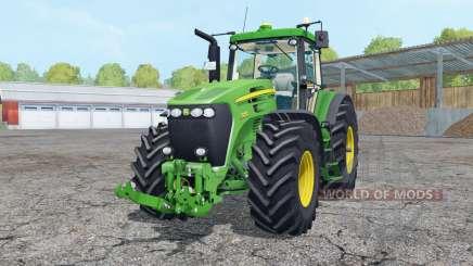 John Deere 7920 vivid malachite для Farming Simulator 2015