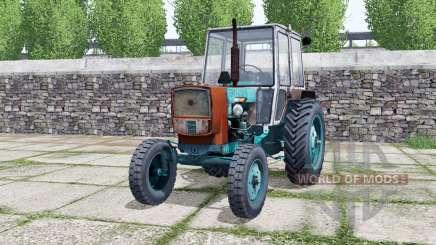ЮМЗ-6КЛ бирюзовый окрас для Farming Simulator 2017