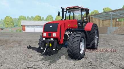 Беларус 3522 ярко-красный окрас для Farming Simulator 2015