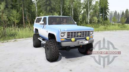 Chevrolet K5 Blazer 1975 для MudRunner