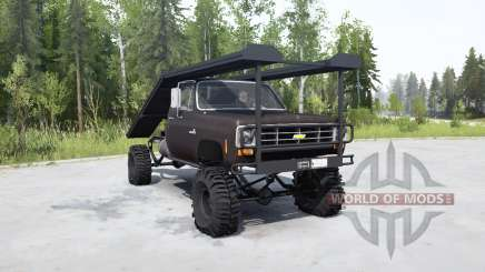 Chevrolet K20 1975 ramp truck для MudRunner