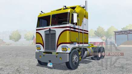 Kenworth K100 manual ignition для Farming Simulator 2013