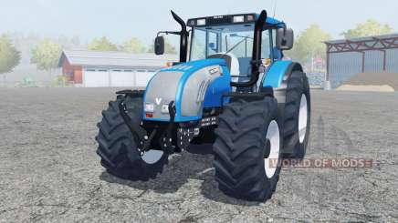 Valtra T182 spanish sky blue для Farming Simulator 2013