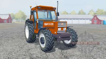 New Holland 110-90 blaze orange для Farming Simulator 2013