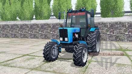 МТЗ 82.1 Беларус с погрузчиком для Farming Simulator 2017