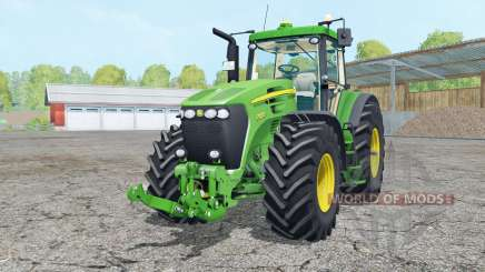 John Deere 7920 vivid malachitᶒ для Farming Simulator 2015