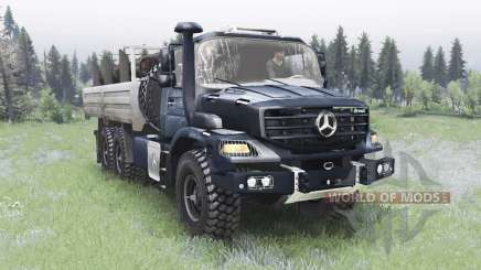 Mercedes-Benz Zetros 2733 A gunmetal для Spin Tires