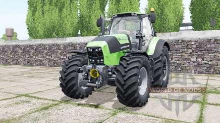 Deutz-Fahr Agrotron 7210 TTV soft lime green для Farming Simulator 2017