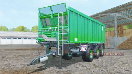 Kroger Agroliner TAW 30 vivid malachite для Farming Simulator 2015