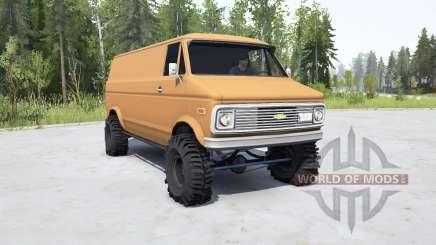 Chevrolet G10 1975 для MudRunner