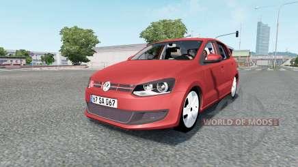Volkswagen Polo 5-door (Typ 6R) 2010 для Euro Truck Simulator 2