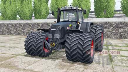 Fendt Favorit 920 Vario dark gunmetal для Farming Simulator 2017