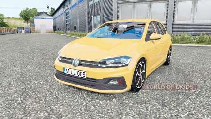 Volkswagen Polo R-Line (Typ AW) 2017 для Euro Truck Simulator 2