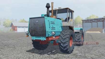 Т-150К ярко-голубой окрас для Farming Simulator 2013