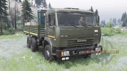 КамАЗ 53228 для Spin Tires