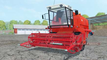 Bizon Z058 light red для Farming Simulator 2015