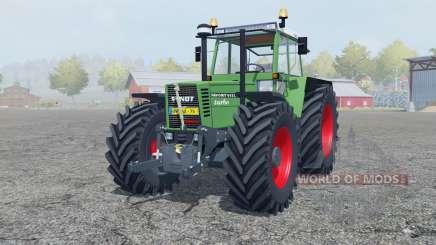 Fendt Favorit 615 LSA Turbomatik chateau green для Farming Simulator 2013