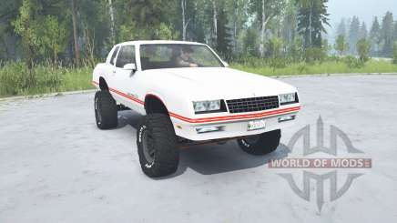 Chevrolet Monte Carlo SS 1986 lifted для MudRunner