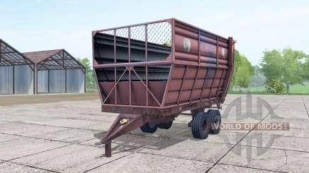 ПИМ-ф-20 ненасыщенно-красный окрас для Farming Simulator 2017