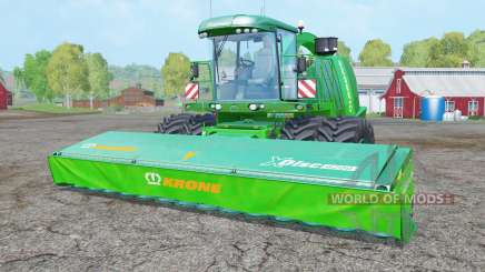 Krone BiG X 1100 dual front wheels для Farming Simulator 2015