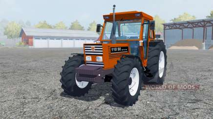 New Holland 110-90 pure orange для Farming Simulator 2013