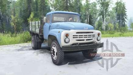 ЗиЛ 130 мягко-синий окрас для MudRunner
